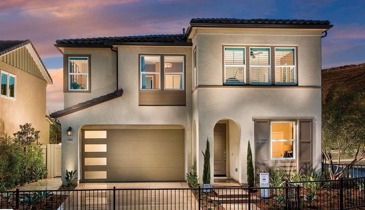 Exterior:Residence 3AR - Model Home
