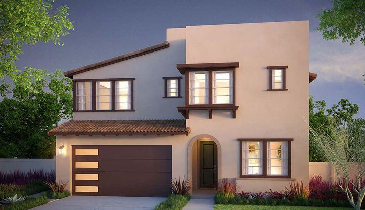 Exterior:Talus Residence 1B Exterior - Rendering
