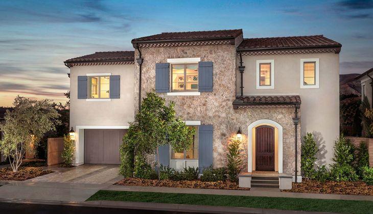 TriPointe Varenna, Orchard Hills, CA:Residence 1B - Provence