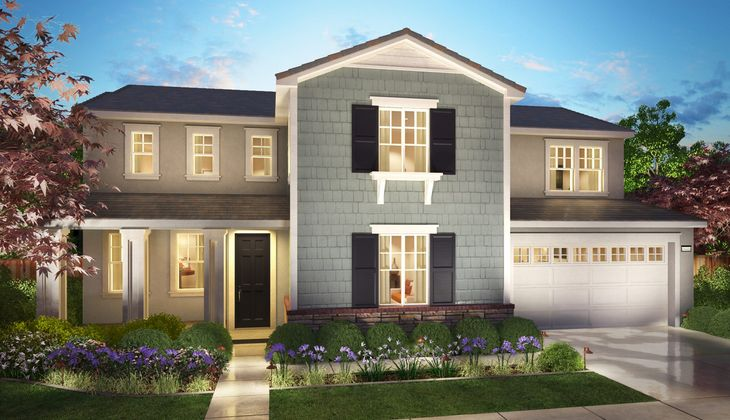 TRI Pointe Marquette Residence 3B Elevation Render