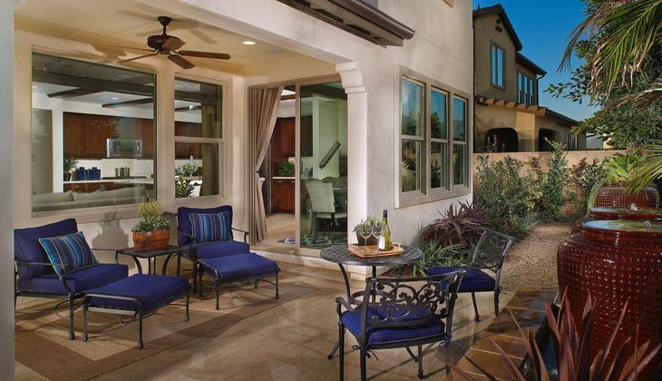 TPH St. James at Park Place Residence 2 California:St. James Residence 2 - Outdoor Living