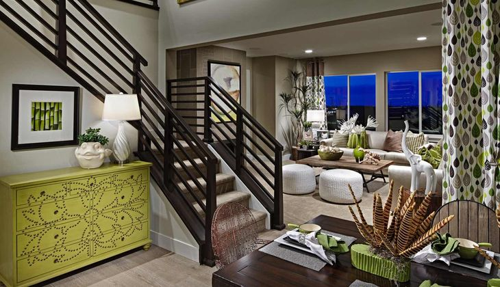 Residence 4004 | Model Home:Dining Room & Great Room