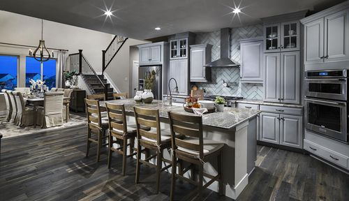 Kitchen-in-Residence 4003-at-Debut Collection in Ravenwood Village at Terrain-in-Castle Rock