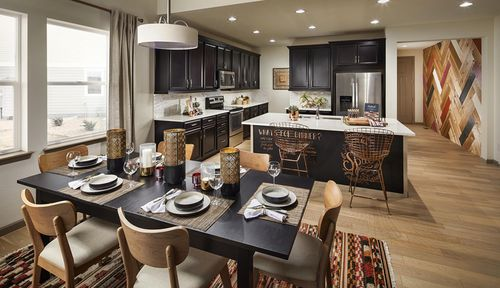 Kitchen-in-Residence 4004-at-Debut Collection in Ravenwood Village at Terrain-in-Castle Rock