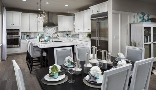Kitchen-in-Residence 4009-at-Debut Collection in Ravenwood Village at Terrain-in-Castle Rock