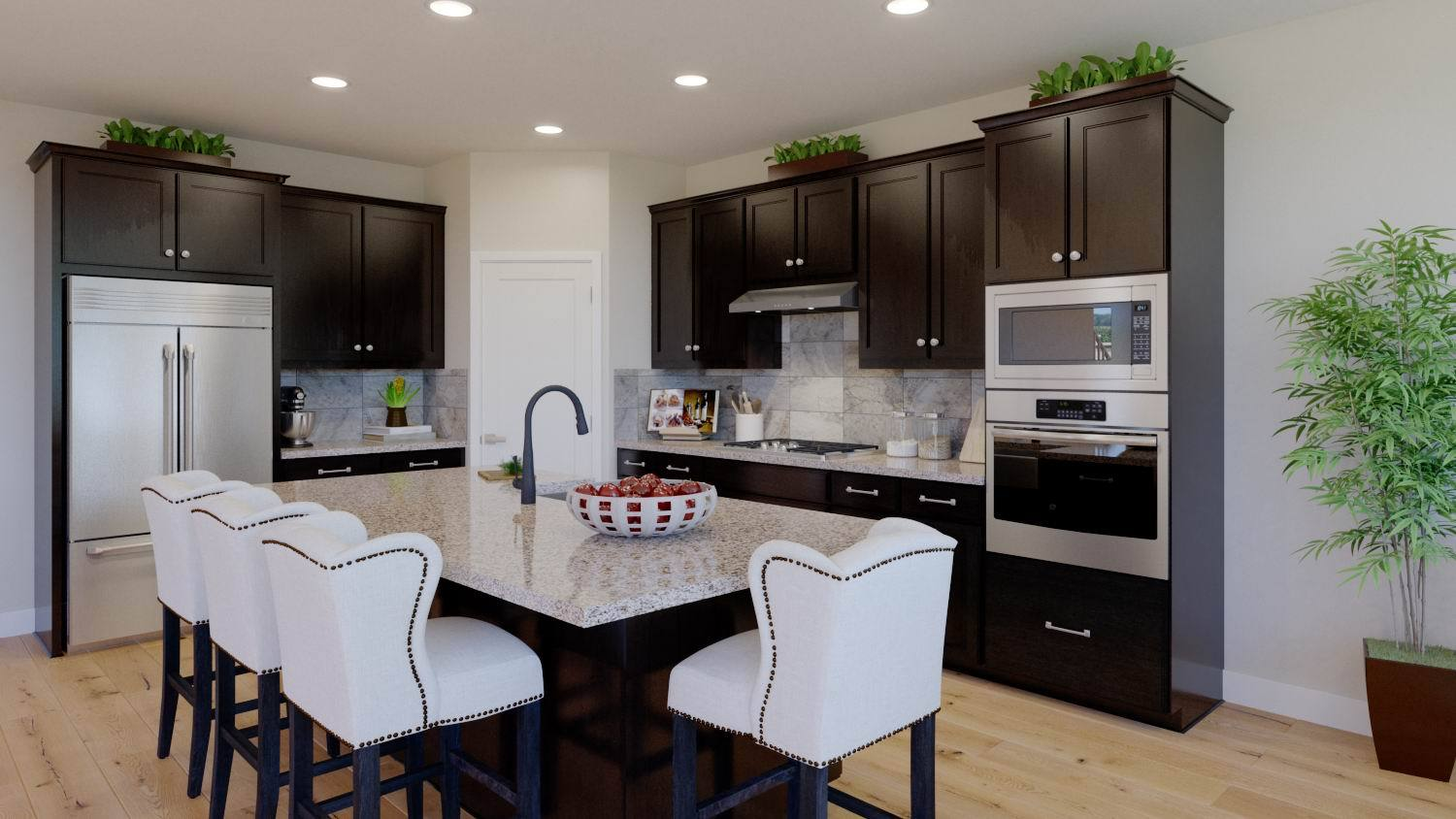 Kitchen-in-Residence 3-SFD-at-Madison Gate-in-Morgan Hill