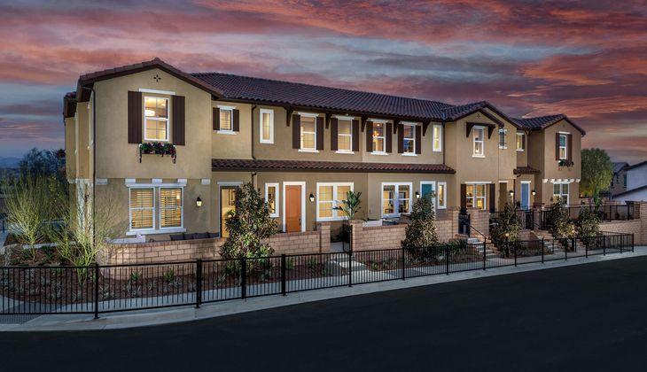 Exterior:Model Homes - Street Scene