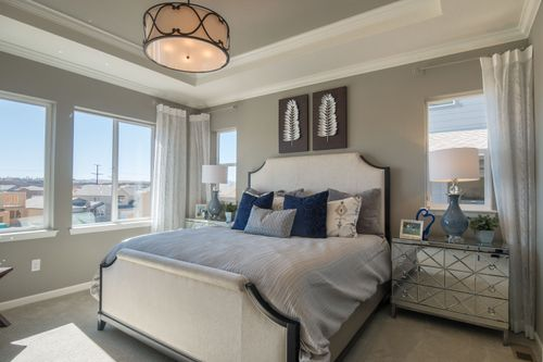 Bedroom-in-Residence 4007-at-Debut Collection in Ravenwood Village at Terrain-in-Castle Rock