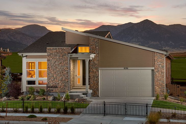 Exterior:Model Home - Residence 4022 | Elevation C