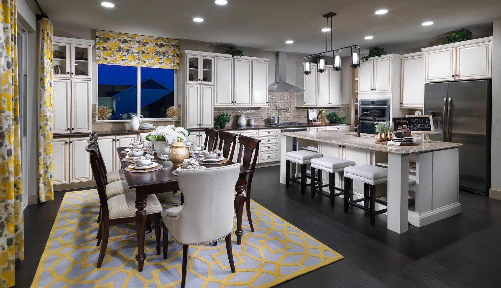 Kitchen-in-Residence 4001 Ranch-at-Debut Collection at Amber Creek-in-Thornton