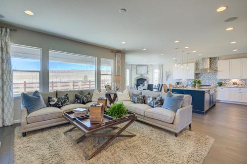 Greatroom-and-Dining-in-Residence 5001-at-Premier Collection at Candelas-in-Arvada