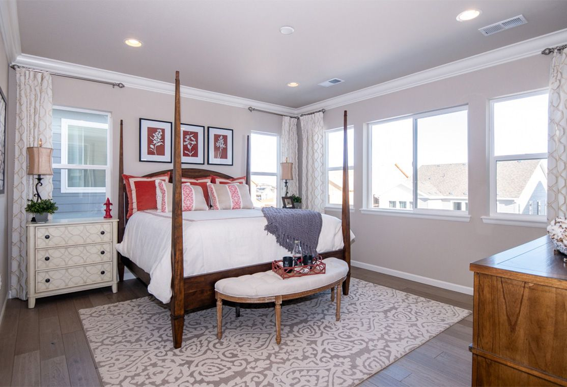 Bedroom-in-Residence 3505-at-Prelude Collection in Ravenwood Village at Terrain-in-Castle Rock