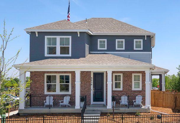 Exterior:Residence 3204 - Modern Prairie Style Exterior