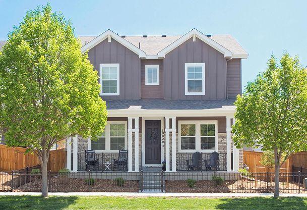 Exterior:Residence 3205 - Farmhouse Style Exterior