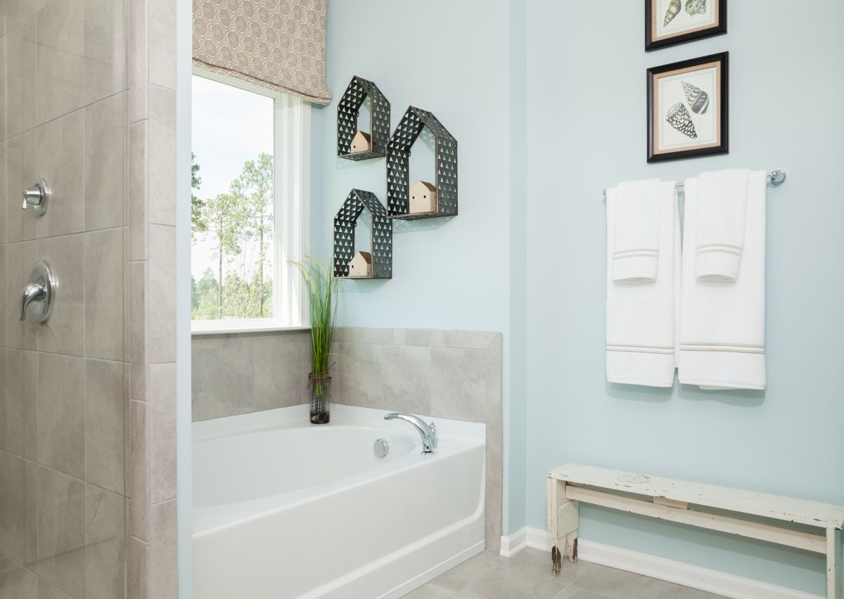 Bathroom featured in The Riley By True Homes - Charlotte in Charlotte, NC