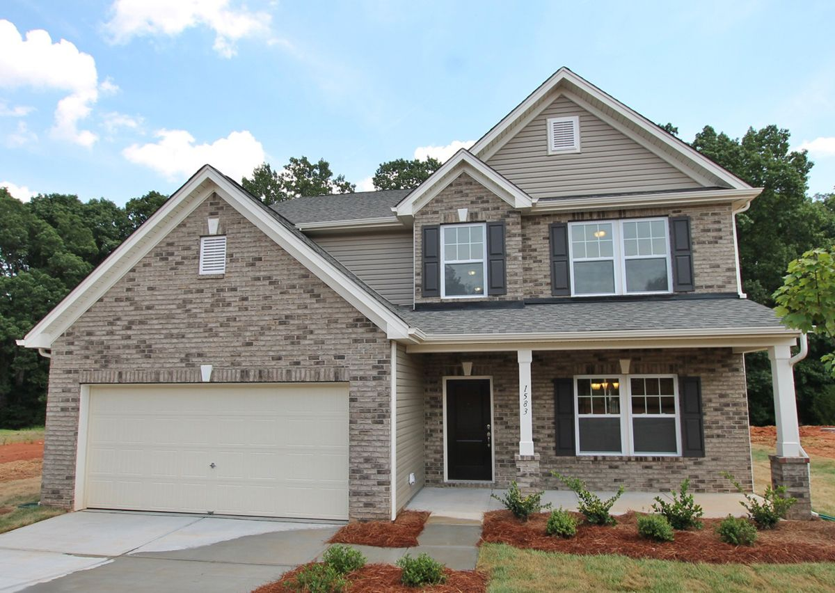 Exterior featured in The Wakefield By True Homes - Triad in Greensboro-Winston-Salem-High Point, NC