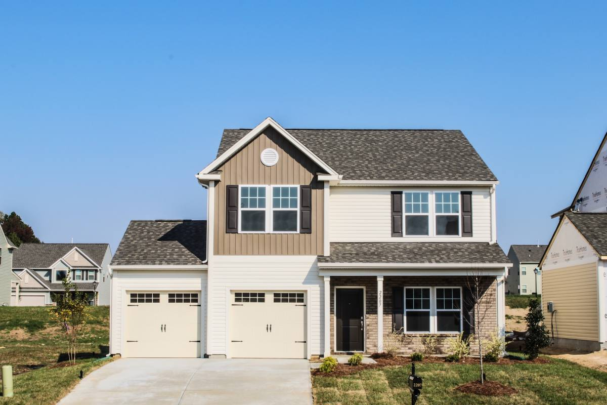 Exterior featured in The Hudson By True Homes - Triad in Greensboro-Winston-Salem-High Point, NC