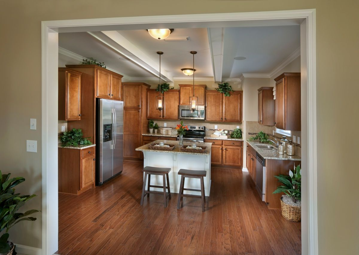 Kitchen-in-The Hudson-at-Grandview-in-Albemarle
