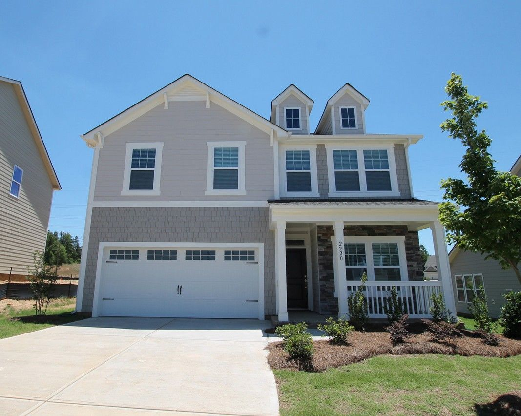 Exterior featured in The Lenox By True Homes - Triad in Greensboro-Winston-Salem-High Point, NC