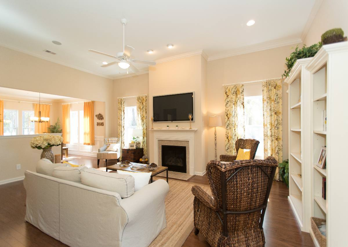 Living Area featured in The Bayside By True Homes - Charlotte in Charlotte, NC