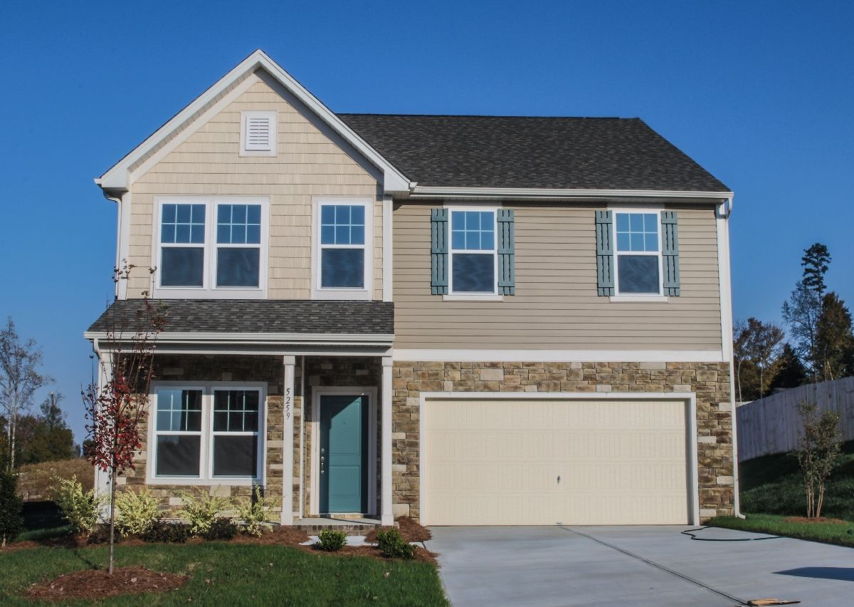 Exterior featured in The Huntley By True Homes - Charlotte in Charlotte, SC