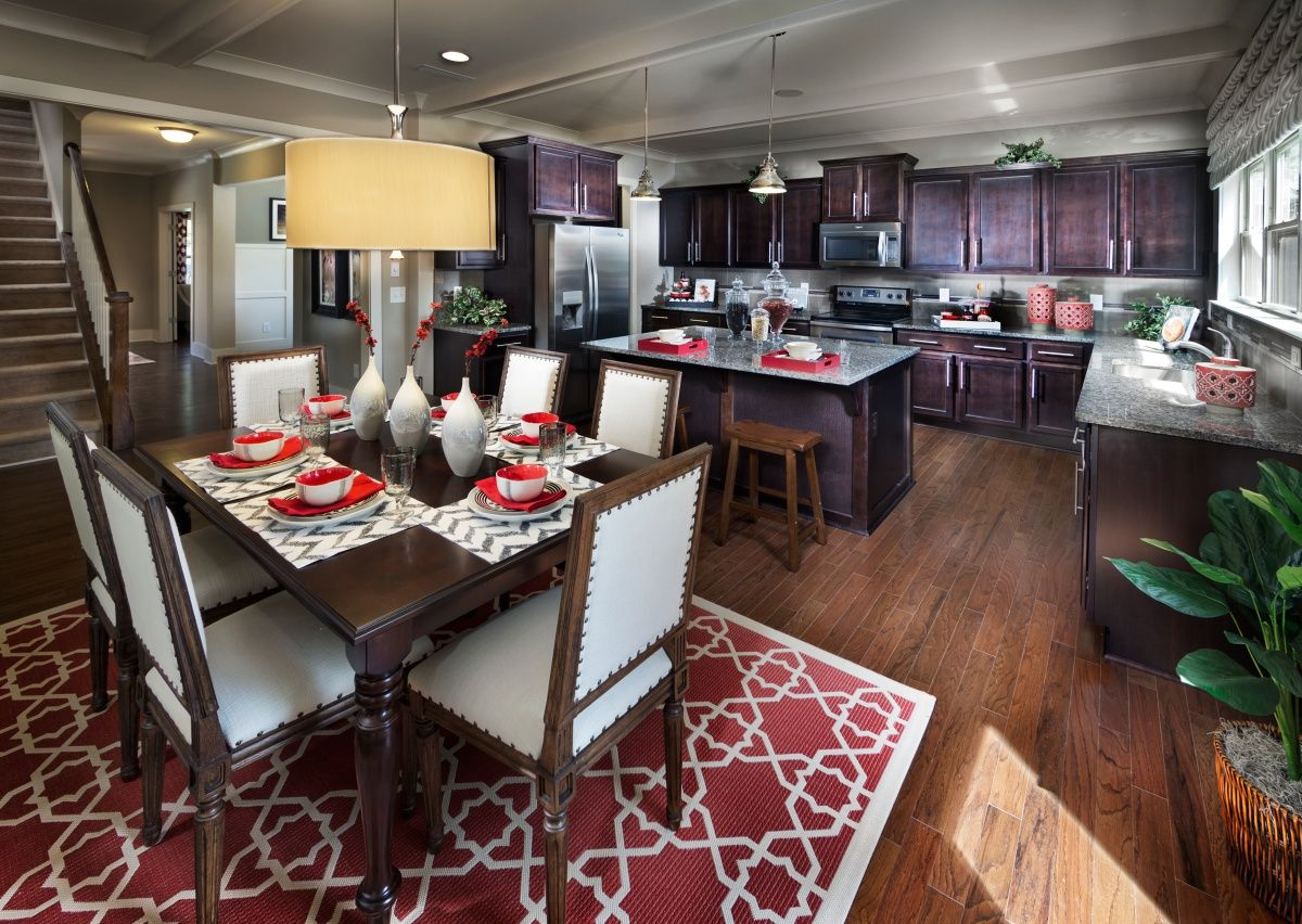 Kitchen-in-The Townsend-at-Hidden Lakes-in-Statesville