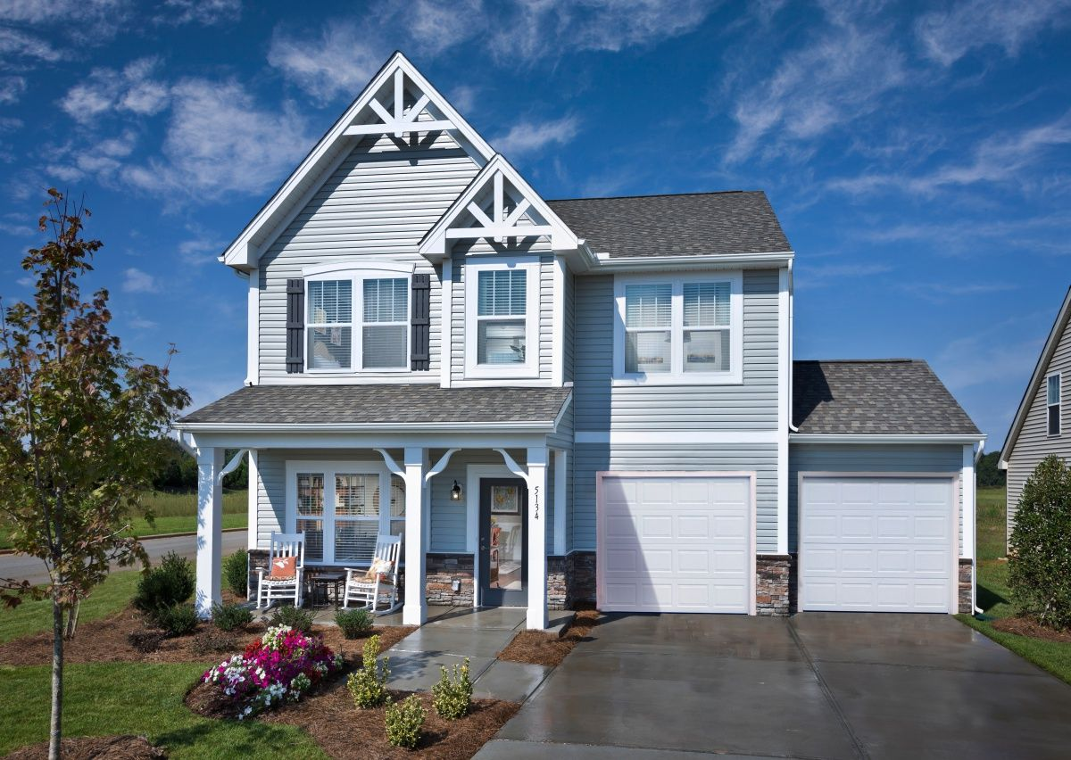 Exterior featured in The Jasper By True Homes - Triad in Greensboro-Winston-Salem-High Point, NC