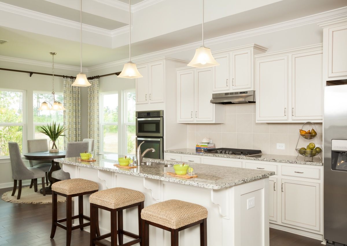 Kitchen-in-The Montcrest-at-Sutter's Mill-in-Troutman