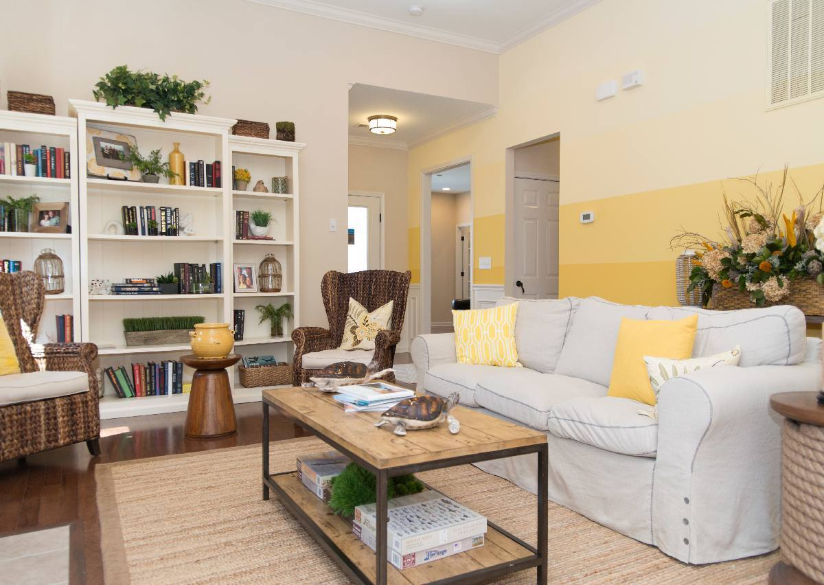Living Area featured in The Bayside By True Homes - Triad