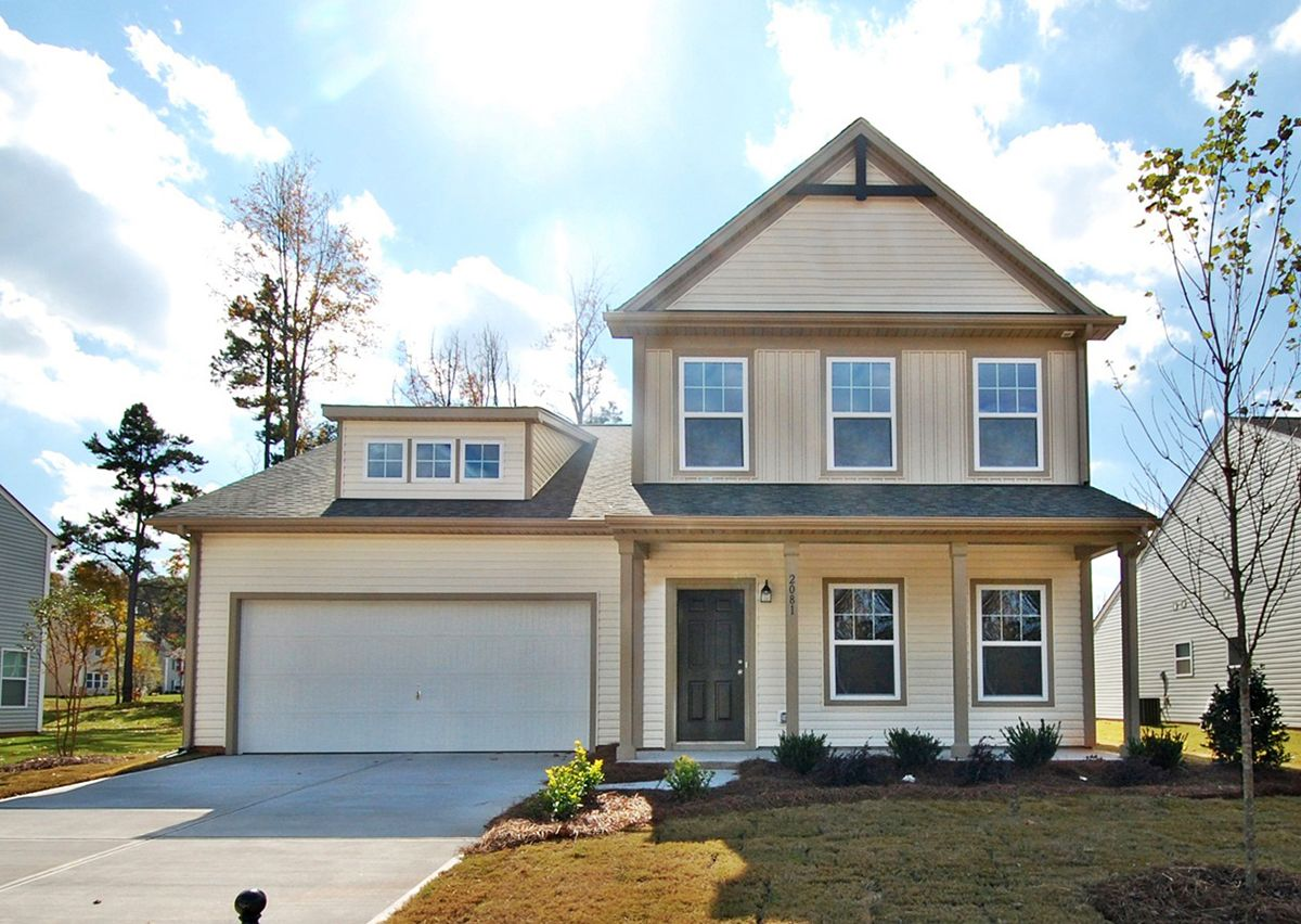 Exterior featured in The Devin By True Homes - Charlotte in Charlotte, NC