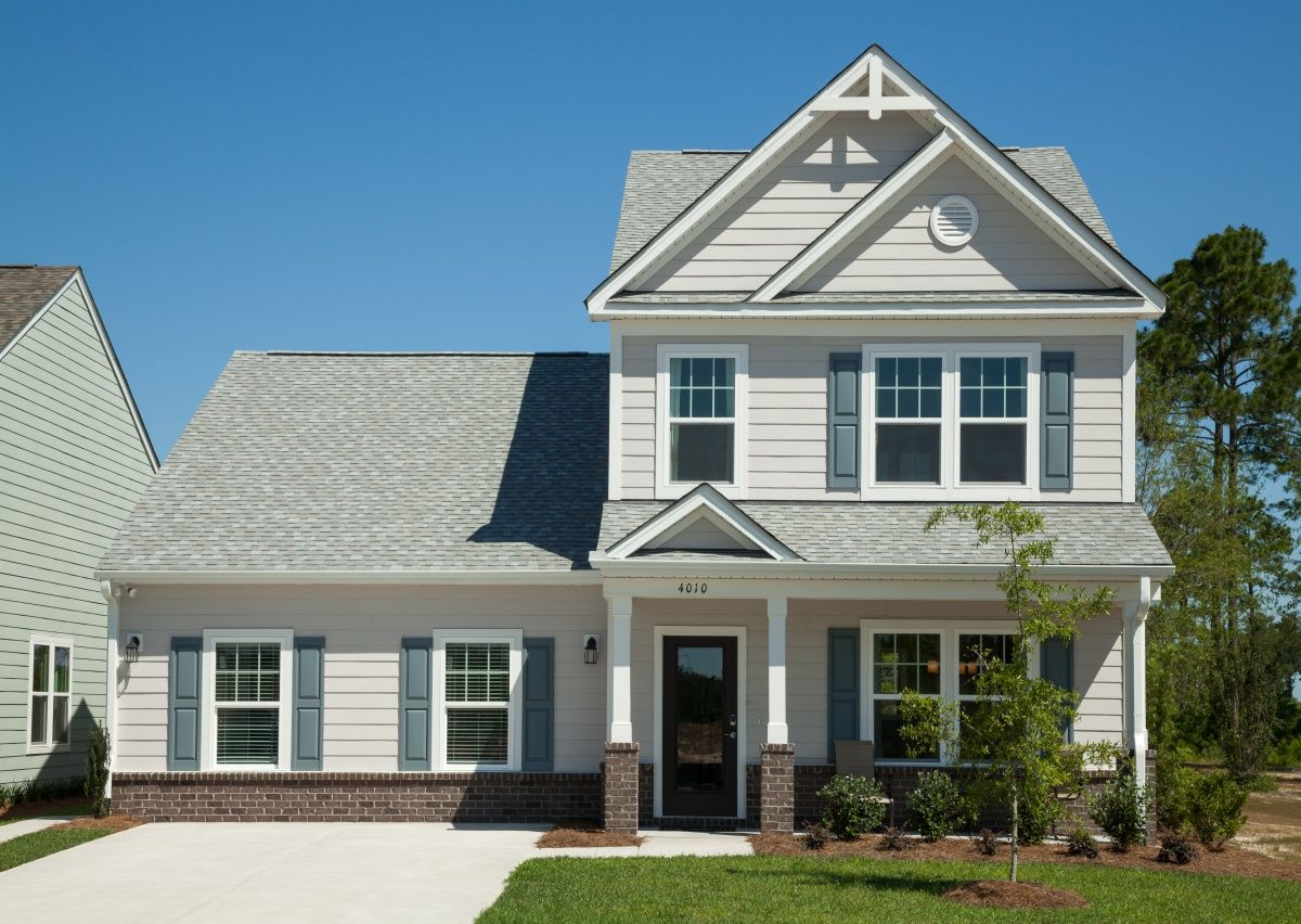Exterior featured in The Devin By True Homes - Charlotte in Greensboro-Winston-Salem-High Point, NC