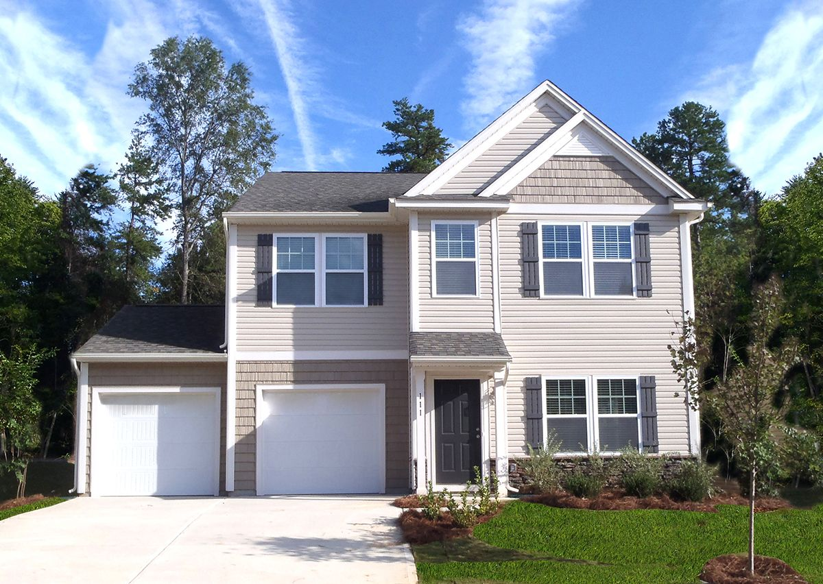 Exterior featured in The Inverness By True Homes - Charlotte