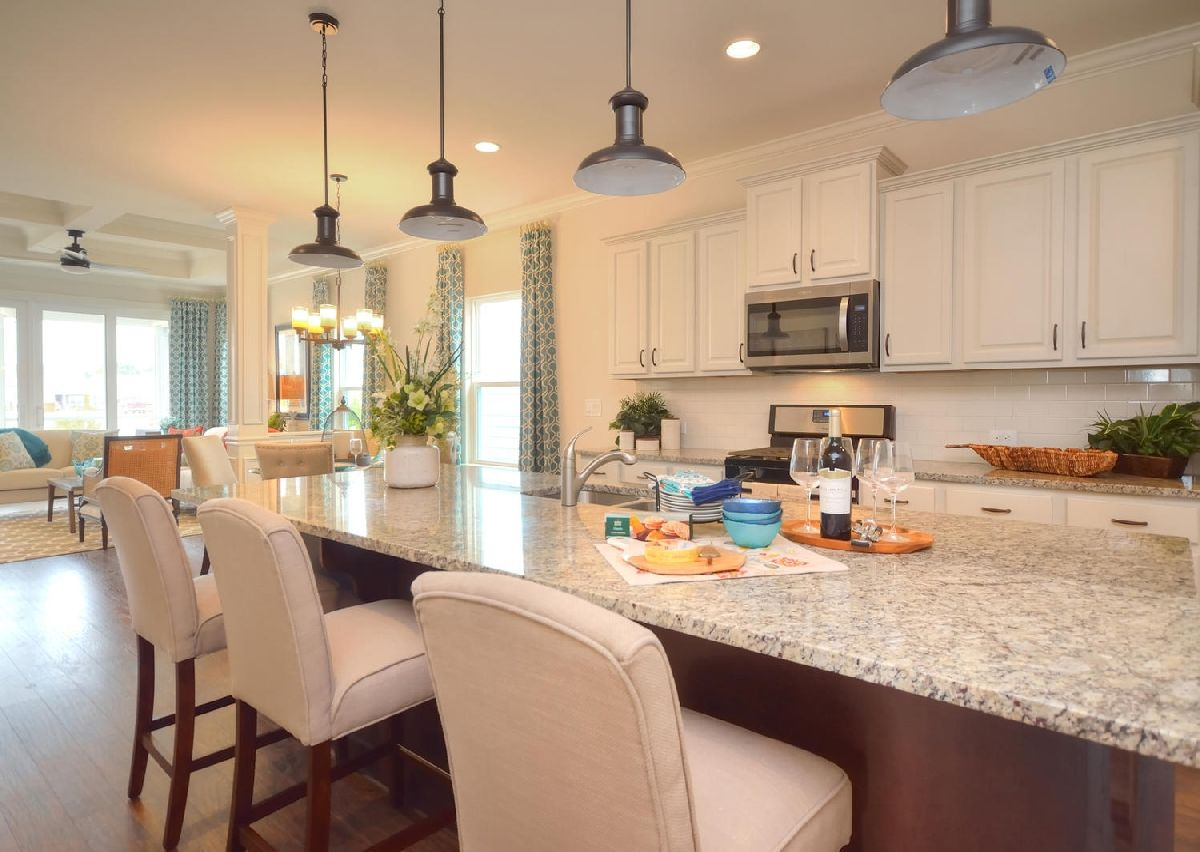 Kitchen-in-The Dobson-at-Hidden Lakes-in-Statesville