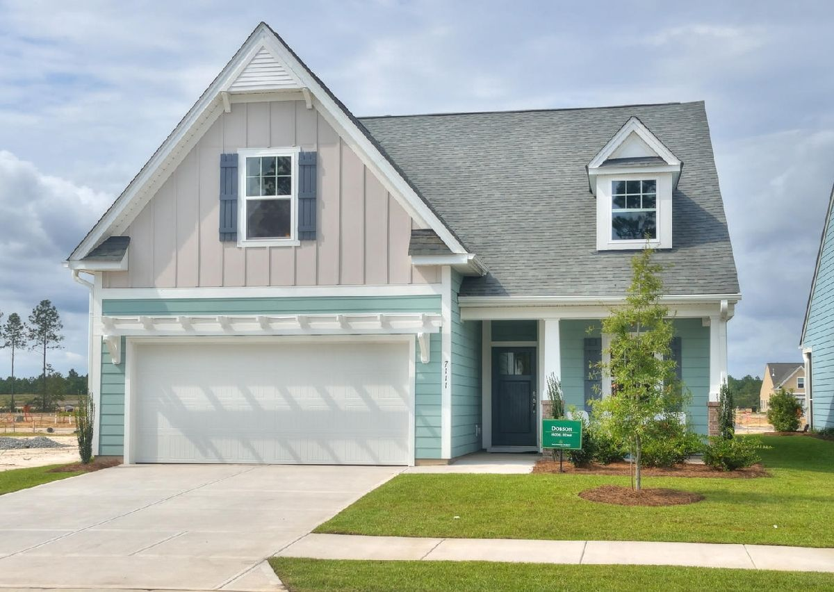 Exterior featured in The Dobson By True Homes - Charlotte