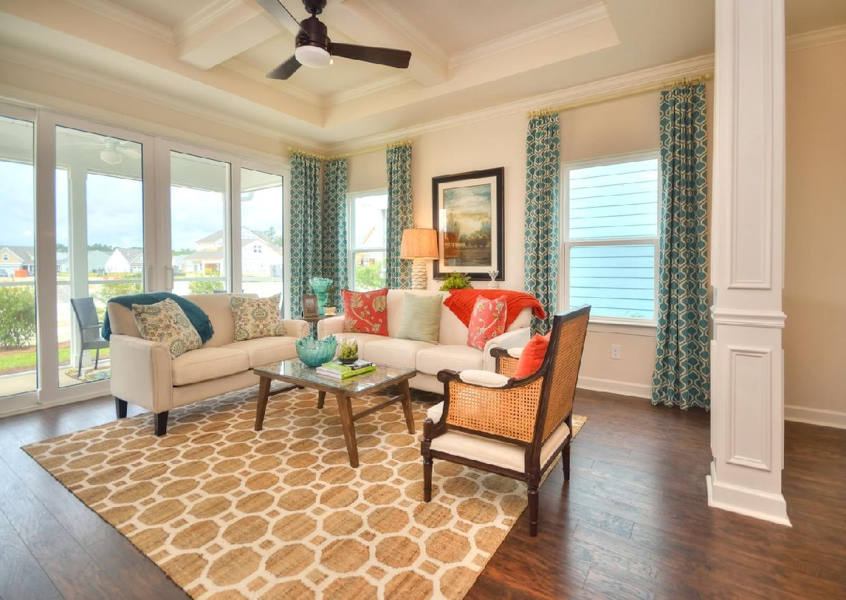 Living Area featured in The Dobson By True Homes - Charlotte