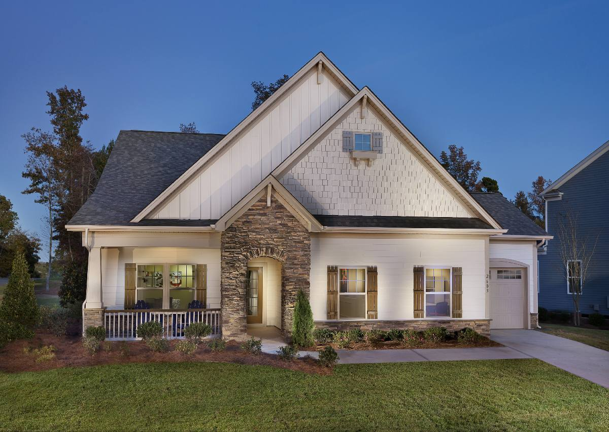 Exterior featured in The Montcrest By True Homes - Charlotte