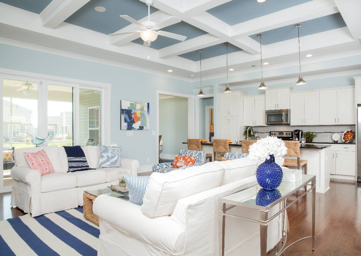 Living Area featured in The Langley By True Homes - Coastal in Wilmington, NC