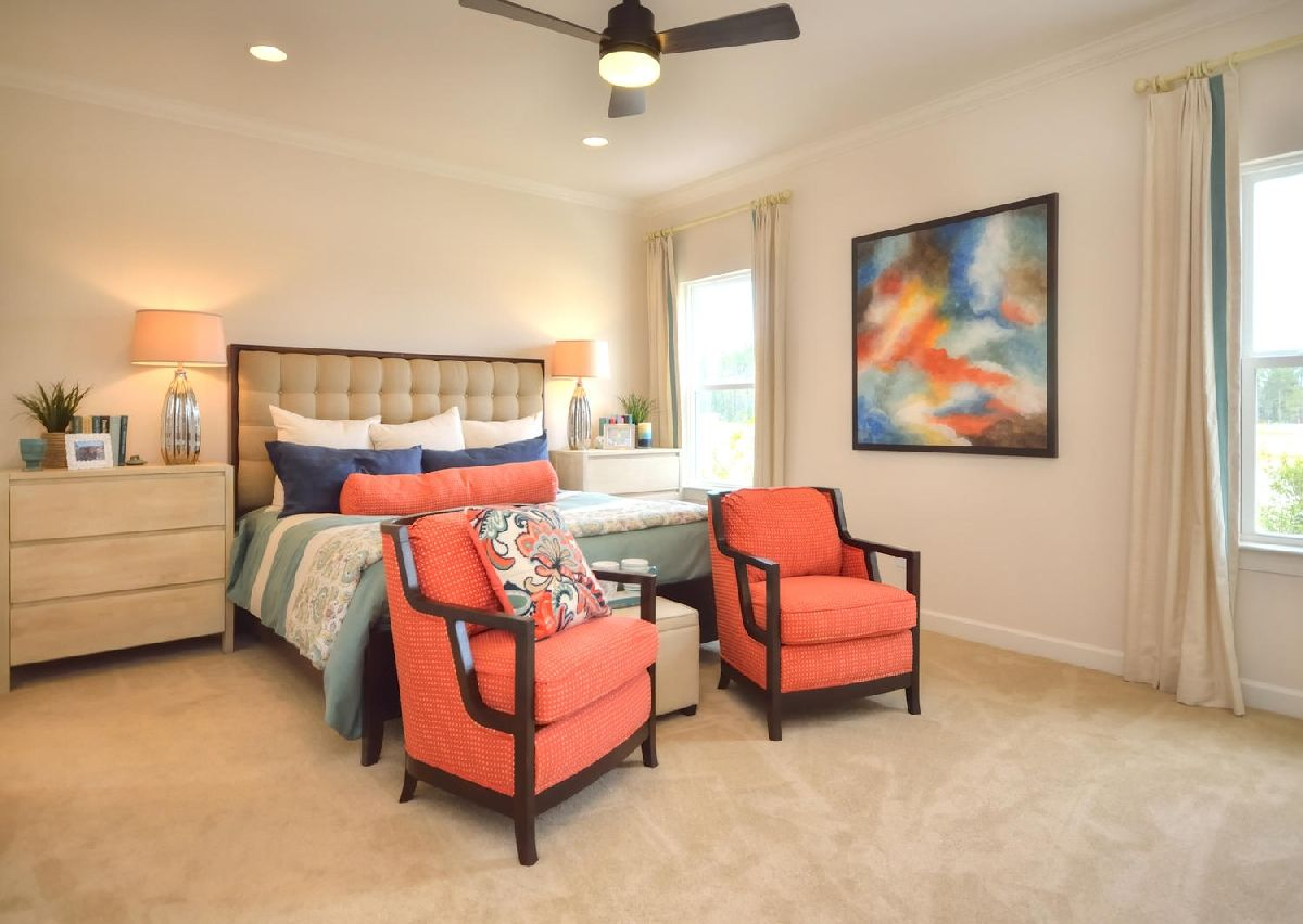 Bedroom featured in The Dobson By True Homes - Coastal in Wilmington, NC