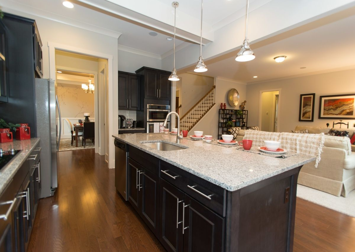 Kitchen-in-The Atkinson-at-The Traditions at Greenbrier-in-Waxhaw