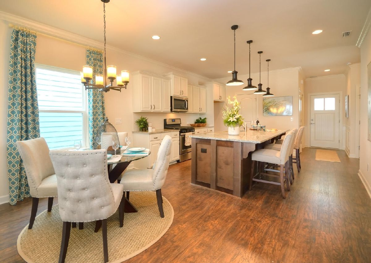 Kitchen-in-The Dobson-at-Grandview-in-Albemarle