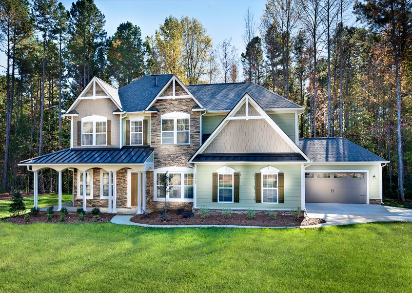 Lake ridge commons in tega cay sc new homes floor for Home plans charlotte nc