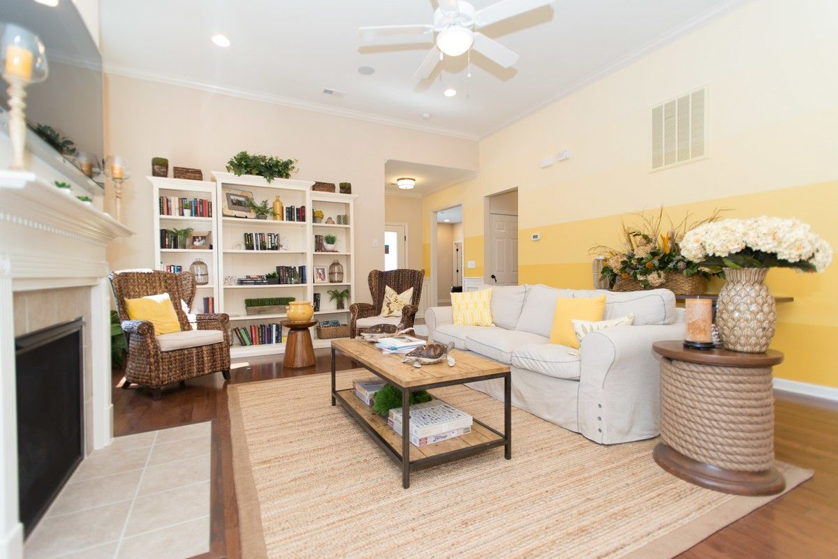 Living Area featured in The Bayside RP By True Homes - Charlotte in Charlotte, NC