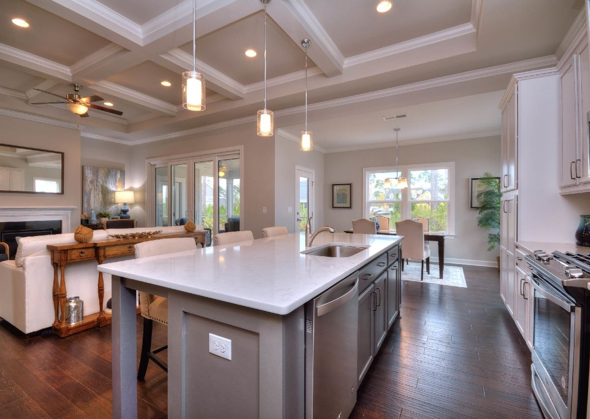 Kitchen featured in The Brodrick By True Homes - Coastal in Wilmington, NC