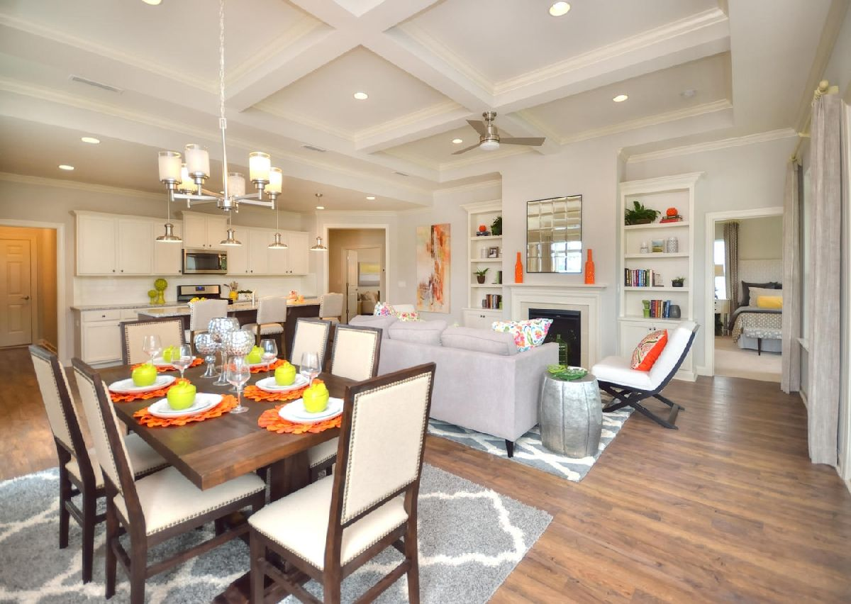 Living Area featured in The Vale By True Homes - Triad in Greensboro-Winston-Salem-High Point, NC