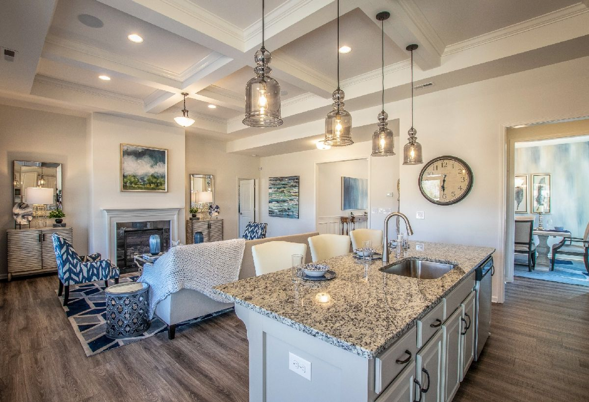 Living Area featured in The Montcrest By True Homes - Charlotte