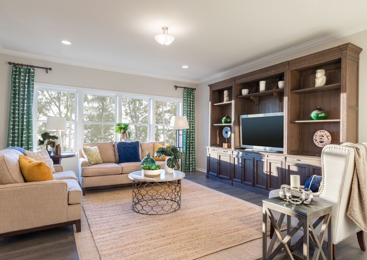 Living Area featured in The Riley By True Homes - Charlotte in Charlotte, NC