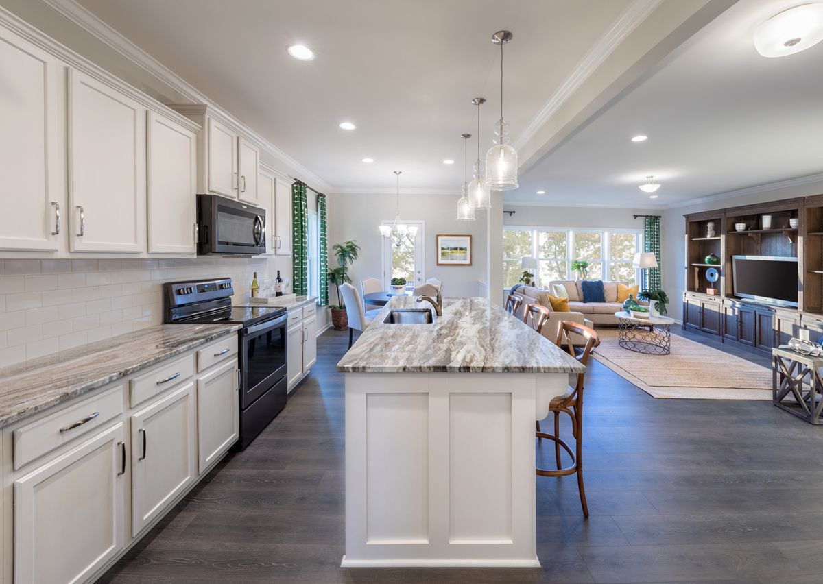Kitchen featured in The Riley By True Homes - Charlotte in Charlotte, NC