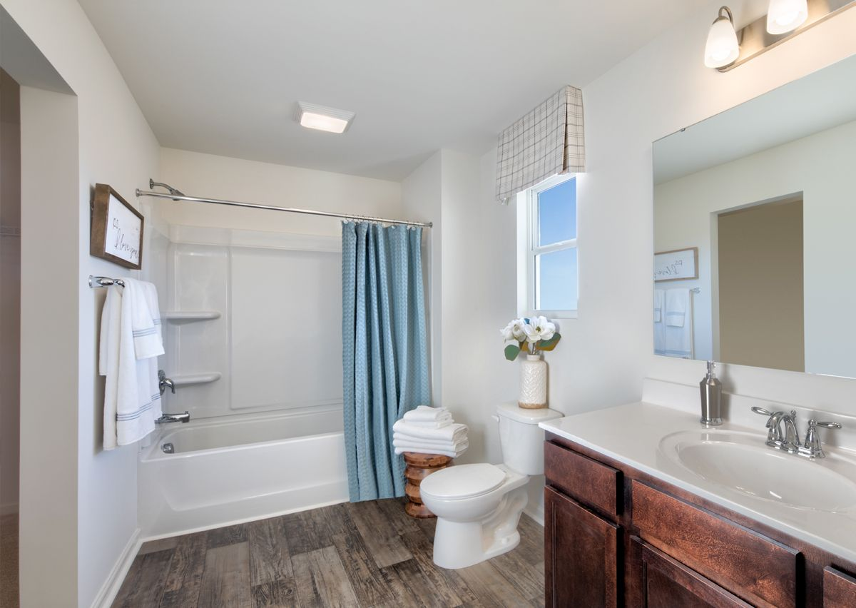 Bathroom featured in The Hudson By True Homes - Charlotte in Charlotte, NC