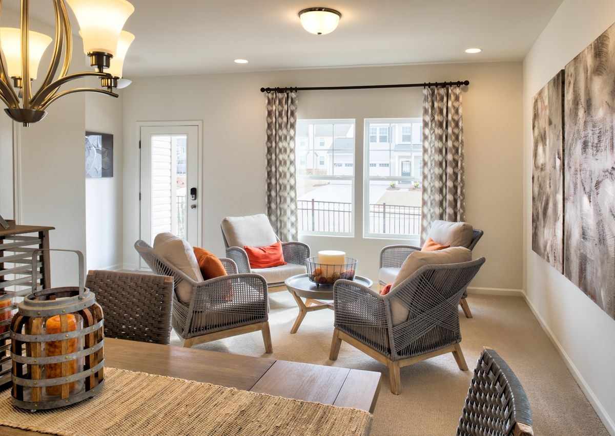 Living Area featured in The Hudson By True Homes - Charlotte in Charlotte, NC