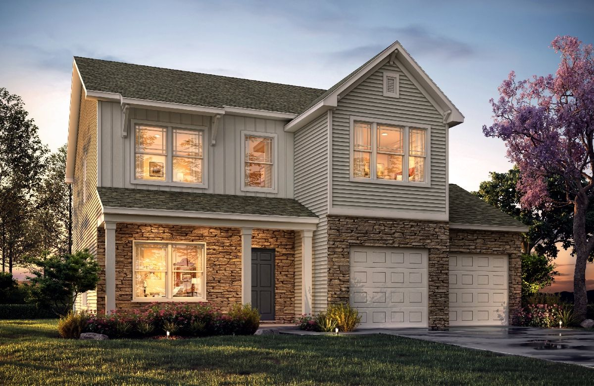 'Brentwood' by True Homes - Charlotte in Charlotte